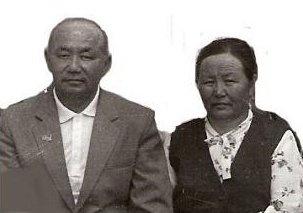Куорка. Супруги Доржогутабай