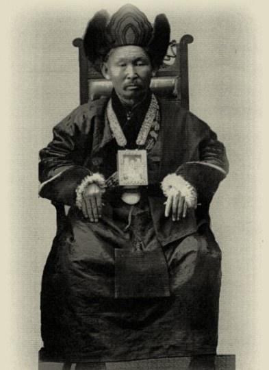 Куорка. Хамбо лама Этигэлов