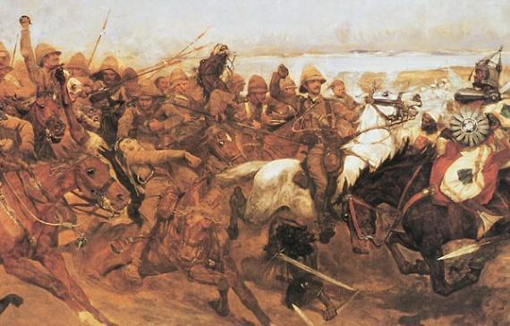 Атака уланского полка при Омдурмане
